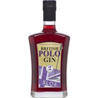 British Polo Gin - No.2 Sloe Gin 70cl Bottle - British Gifts
