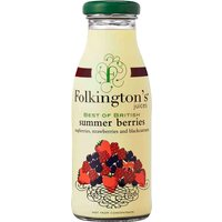 Folkingtons - Best Of British Berries 12x 250ml Bottles - British Gifts