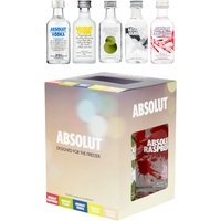 Absolut - Freezer Gift Pack 5x 5cl Miniatures - Absolut Gifts