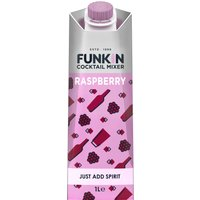 Funkin Cocktail Mixer - Raspberry 1 Litre Carton - Alcohol Gifts