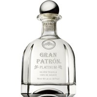 Patron - Gran Patron Platinum 70cl Bottle - Platinum Gifts