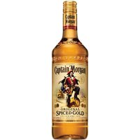 Captain Morgan - Original Spiced Gold 70cl Bottle - Rum Gifts