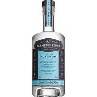 Elements Eight - Platinum Rum 70cl Bottle - Platinum Gifts