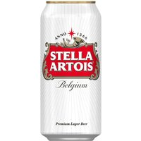 Stella Artois 24x 500ml Cans - Lager Gifts