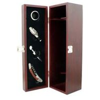 Luxury Box Range - With Wine Accessories For One Bottle Single Bottle Gift Box