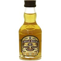 Chivas Regal - 12 Year Old Miniature 5cl Miniature - Thedrinkshop Gifts