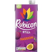 Rubicon - Passion Fruit Juice Drink 1 Litre Carton - Fruit Gifts