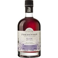 Foxdenton - Sloe Gin 70cl Bottle - Gin Gifts
