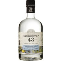 Foxdenton - London Dry Gin 48% 70cl Bottle - London Gifts