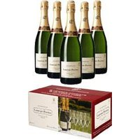 Laurent Perrier - Brut L-P Limited Edition Case With Glasses 6x 75cl Bottles at The Drink Shop