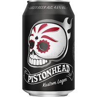 Pistonhead - Kustom Lager 24x 330ml Cans - Lager Gifts
