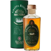Sibona - Grappa Reserve Madeira Wood Finish 50cl Bottle - Wood Gifts