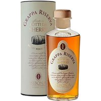 Sibona - Grappa Reserve Sherry Wood Finish 50cl Bottle - Wood Gifts