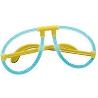 IOIO FLS 30848 Knicklicht-Brille, 6 verschiedene Farben