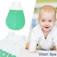 VITALISPA Babydecke Kinderschlafsack Größe 68 Schlafsack Sommerschlafsack Jungen 4-6 Monate 70 cm