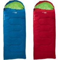 YELLOWSTONE Schlafsack Ashford Junior -Kinder+Jugend - Decken Kinderschlafsack Farbe: rot