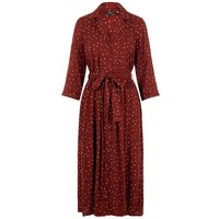 VERO MODA Printed Shirt Dress Women Brown