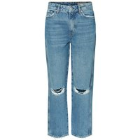 VERO MODA Vmalva Normal Waist Loose Fit Jeans Women Blue