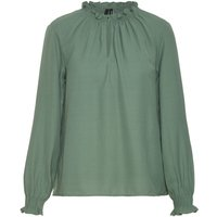 VERO MODA Flounce Top Women Green