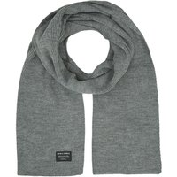 JACK & JONES Classic Knitted Scarf Men Grey