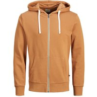 JACK & JONES Bequemer Sweatshirt Men Orange