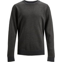 JACK & JONES Boys Strickpullover Men Grey