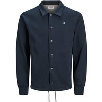 JACK & JONES Beschichtete Sweatjacke Men Blue