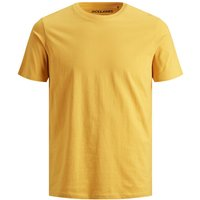 JACK & JONES Bio-baumwoll T-shirt Men Yellow