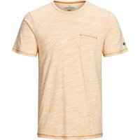 JACK & JONES Melange T-shirt Men Yellow