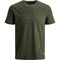 JACK & JONES Kenton Blu. Tee Ss Crew Neck T-shirt Men Green