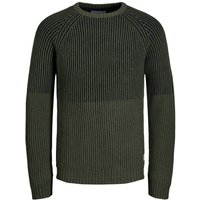 JACK & JONES Struktur Strick-cardigan Men Green