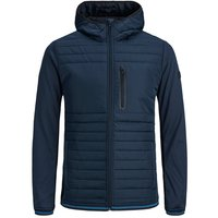 JACK & JONES Padded Detail Puffer Jacket Men Blue