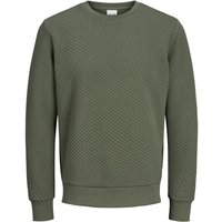 JACK & JONES Strukturiertes Sweatshirt Sweatshirt Men Green