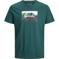 JACK & JONES Statement T-shirt Men Green