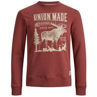 PRODUKT Rundhalsausschnitt Sweatshirt Men Brown