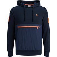 JACK & JONES Reissverschlussdetail Hoodie Men Blue