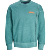 JACK & JONES Statement Print Sweatshirt Men Green