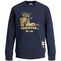 JACK & JONES Boys Donald Duck Sweatshirt Men Blue