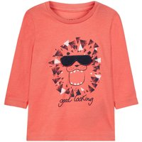 NAME IT Print Oberteil Mit Langen Armeln Men Red