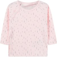 NAME IT Wrapover Long-sleeved T-shirt Unisex Pink