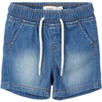 NAME IT Leichte Web Jeansshorts Men Blue