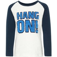 NAME IT Mickey Mouse Print Longsleeve Men Blue