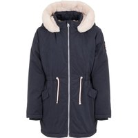 NAME IT Kunstfell Kapuzen Parka Women Blue