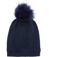 NAME IT Knitted Beanie Men Blue