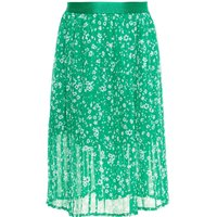 NAME IT Falten Blumenprint Midirock Women Green