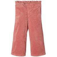 NAME IT Cord Hose Mit Weitem Bein Women Pink