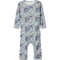 NAME IT Printed One-piece Suit Men Blue