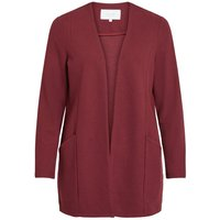 VILA Einfarbiger Coatigan Women Red