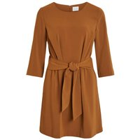 VILA Knot - Mini Dress Women Brown