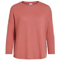 VILA Loose Fit 3/4-armel Oberteil Women Pink